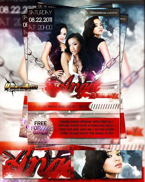 top 10 best free party psd flyer templates - free premium psd flyer templates to download