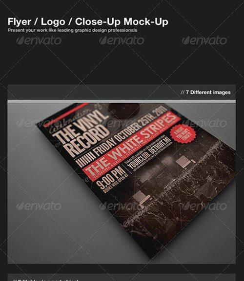 flyer poster mock up mockups template free club party psd flyer templates - free premium psd flyer templates to download
