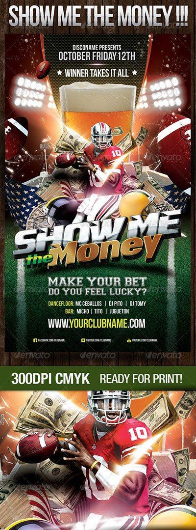 money dollar party money rain make money flyer poster template free club party psd flyer templates - free premium psd flyer templates to download