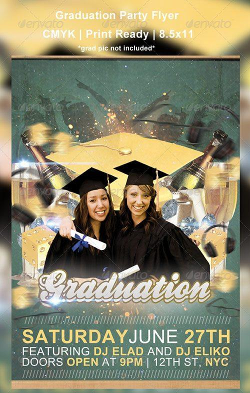prom night graduation party club flyer poster template free club party psd flyer templates - free premium psd flyer templates to download