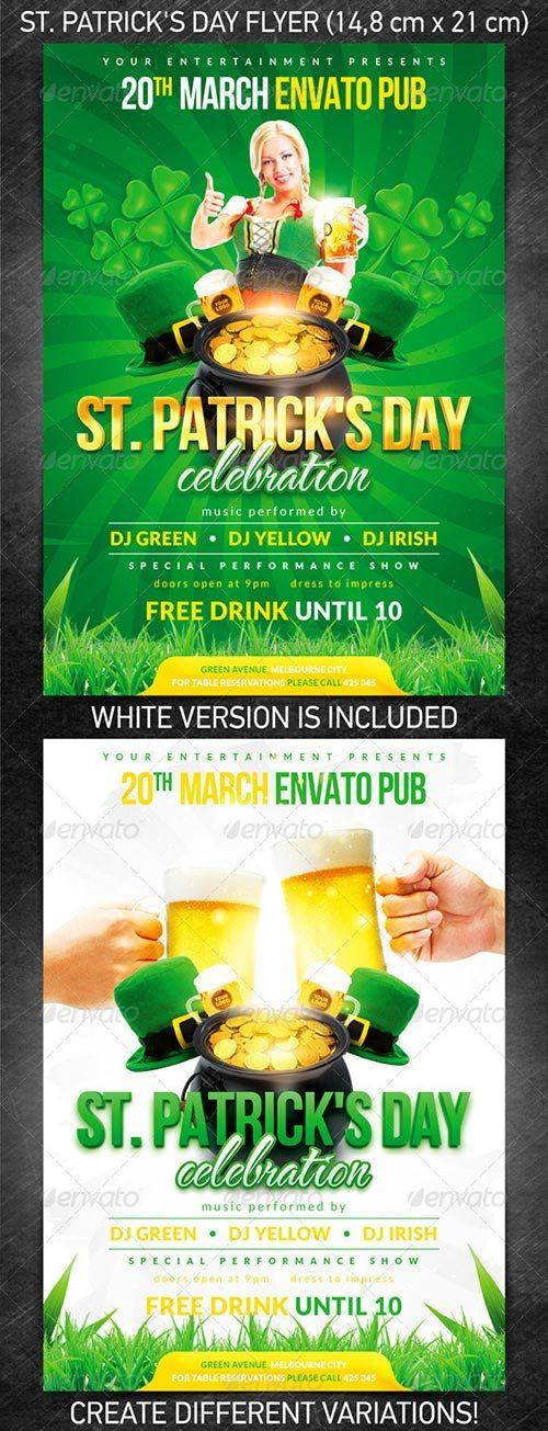 St Patrick S Day Flyer Template 2 St Patrick S Day Flyer Template 2 Is ...