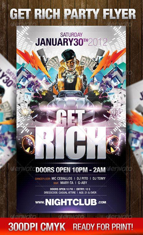 Hip Hop Rap Battle Style flyer poster template free club party psd flyer templates - free premium psd flyer templates to download