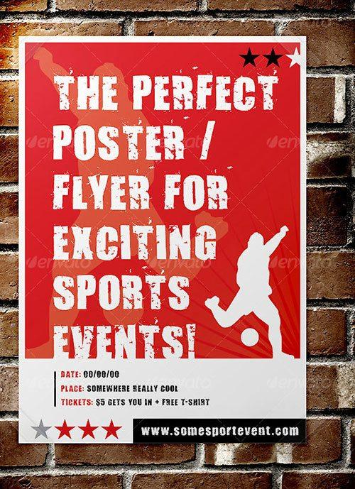sport soccer basketball football superbowl flyer poster template free club party psd flyer templates - free premium psd flyer templates to download