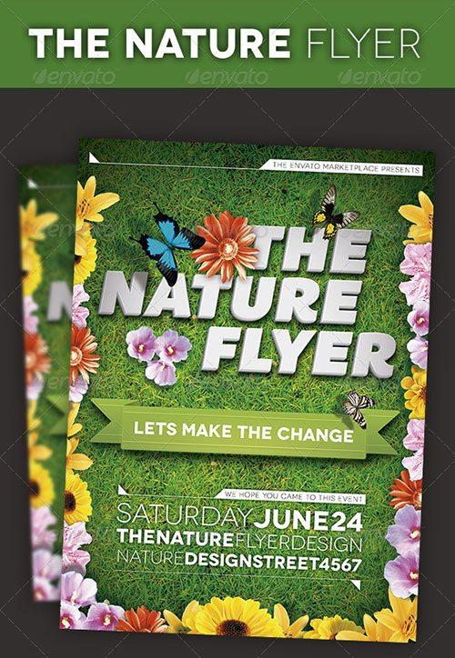 nature outdoor party festival flyer poster template free club party psd flyer templates - free premium psd flyer templates to download