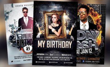 Top 10 Best Birthday PSD Flyer Templates