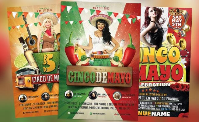 Top 10 Best Cinco de Mayo PSD Flyer Templates