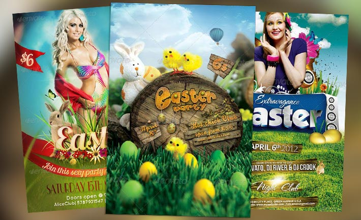 Top 10 Best Easter PSD Flyer Templates