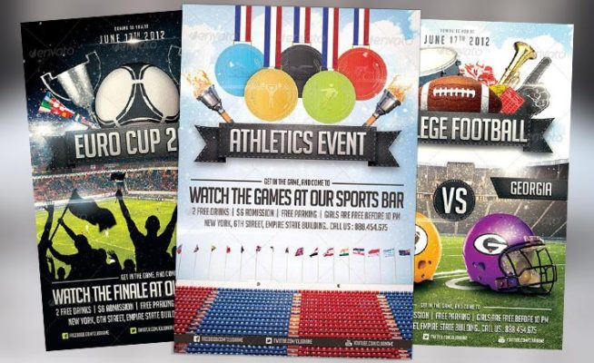 Top 10 Best Sport PSD Flyer Templates