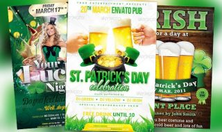 Top 10 Best St. Patricks Day PSD Flyer Templates