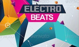 electro beats party event weekly top featured psd party club flyer template to download
