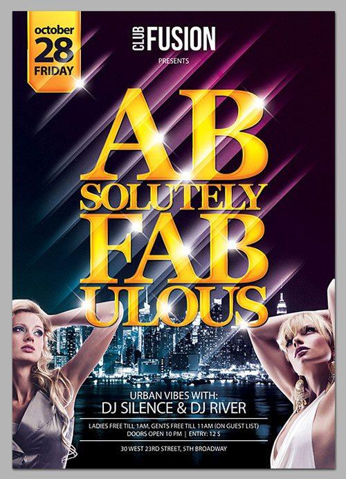 free psd flyer poster template free club party psd flyer templates - free premium psd flyer templates to download