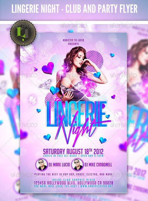 ladies night club flyer poster template free club party psd flyer templates - free premium psd flyer templates to download
