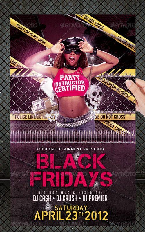 Urban street party club flyer poster template free club party psd flyer templates - free premium psd flyer templates to download