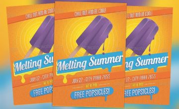 Featured Flyer: Vintage Summer Flyer PSD Template