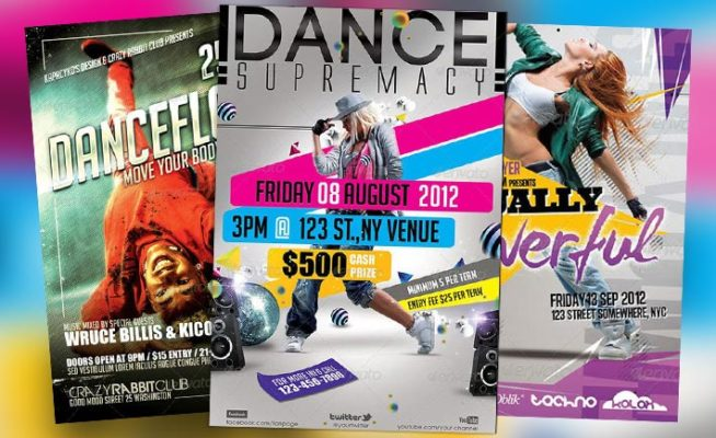 Top 10 Best Urban Dance PSD Flyer Templates