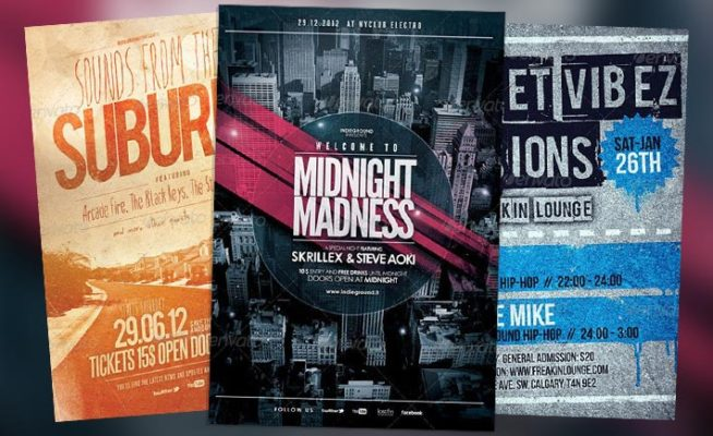 Top 10 Best Urban Street PSD Flyer Templates