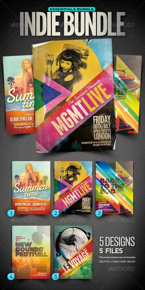best 20 top and new indie rock flyer templates psd download