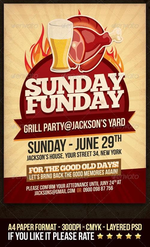 best of summer warm up spring party club flyer templates to download