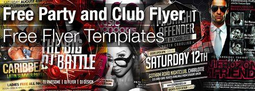 top 20 free party club nightclub night flyer templates for photoshop free to download at flyersonar