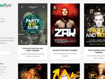 Download the best free DJ Flyer Templates