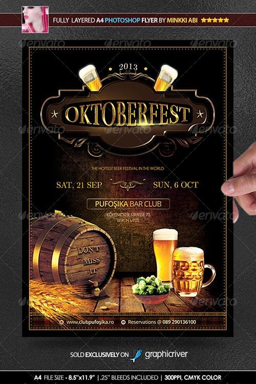 download featured weekly free flyer psd photoshop flyer design template