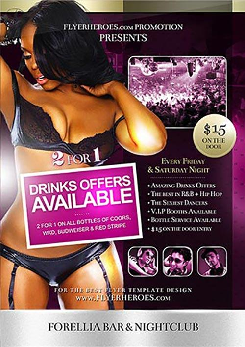 best free psd flyer templates free for download best flyer templates of the web