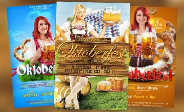 Best 25 Oktoberfest PSD Flyer Templates
