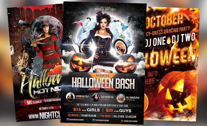 Top 30 great halloween party flyer templates download for How to have a great halloween party