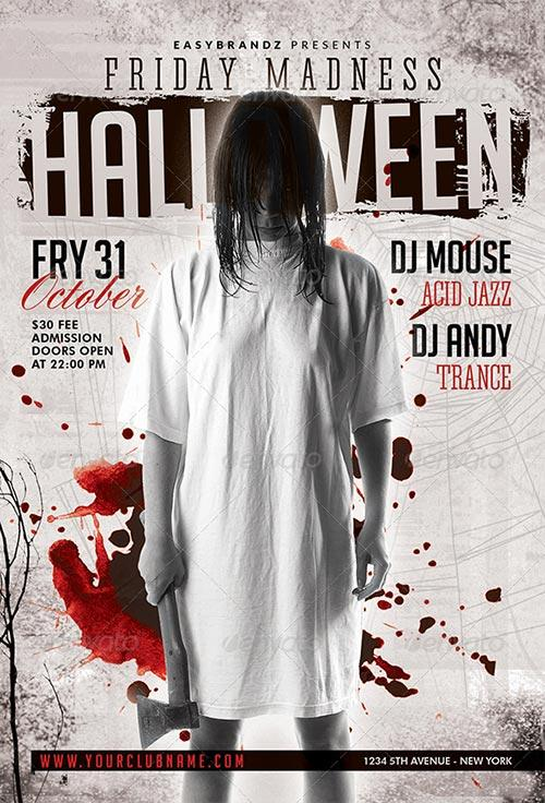 Friday Madness Flyer Template