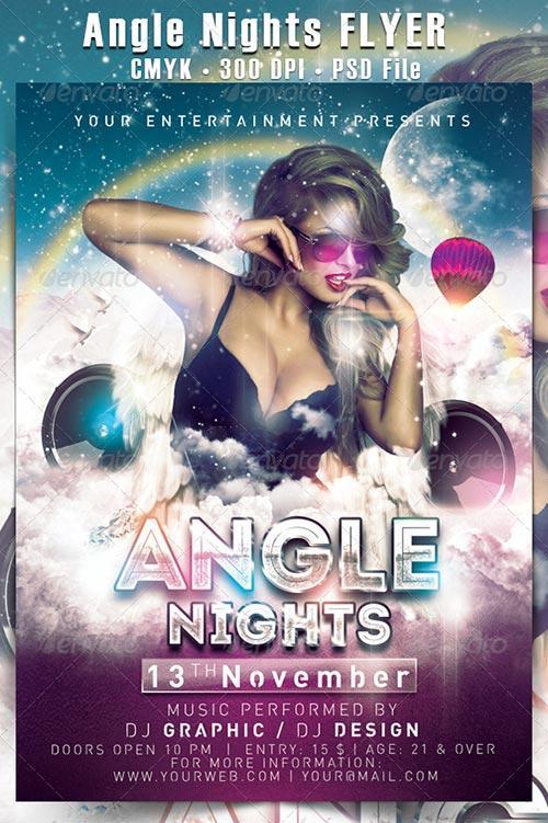 1. Angle Nights Flyer