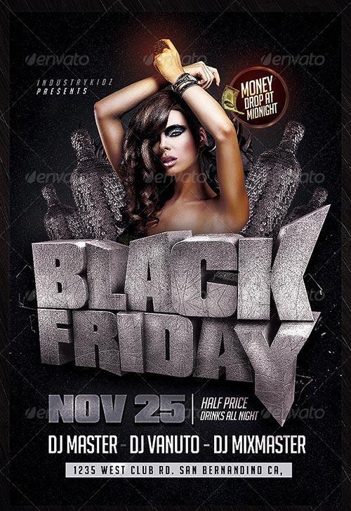 Black Friday PSD Flyer