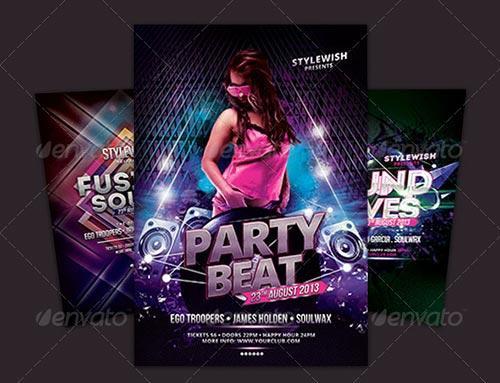 Party Flyer Bundle Vol9