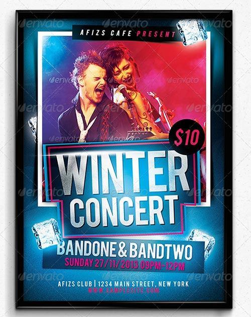 Winter Concert Flyer