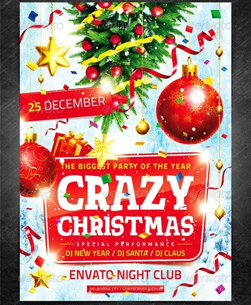 Crazy Christmas Flyer