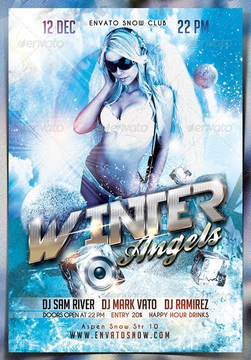 Winter Angels Flyer