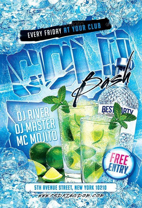 Cold Bash Party Flyer - 4x6