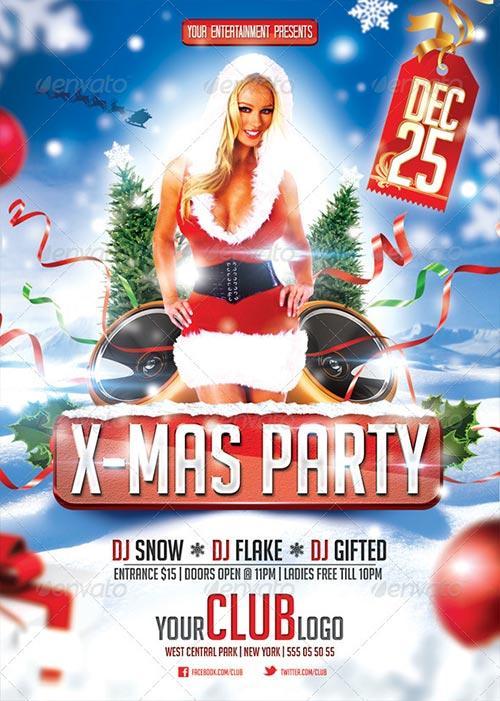 X-Mas Party Flyer