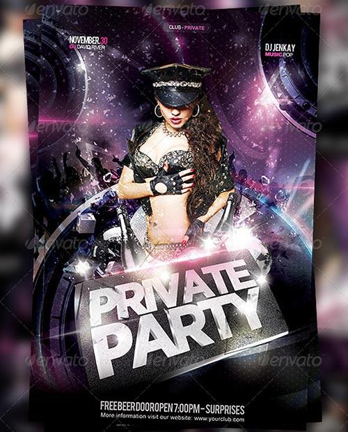 Flyer Private Party