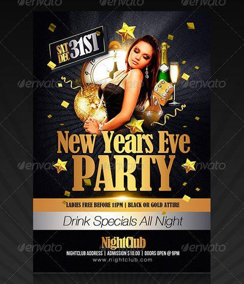New Years Party Flyer