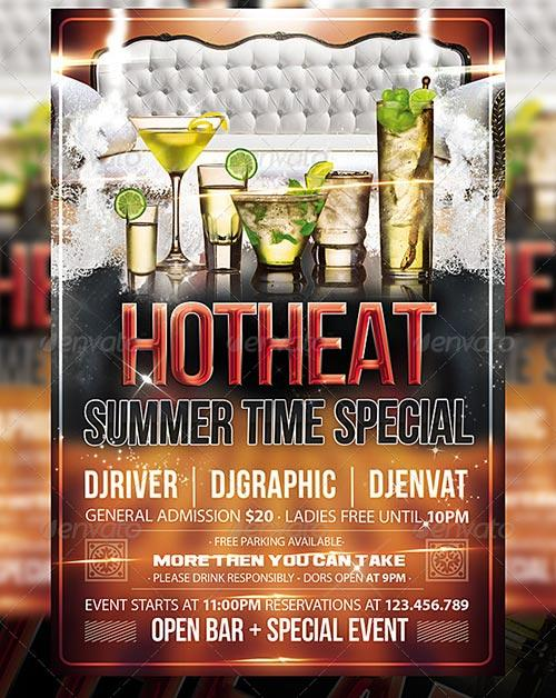 Hot Special Party Flyer Template