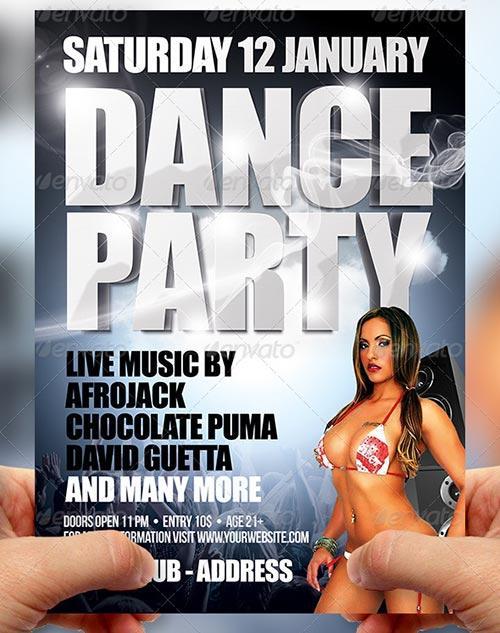 Dance Party Flyer