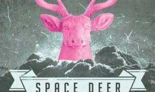 Space Deer Flyer PSD Template