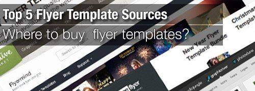 Top 5 Flyer Template Sources