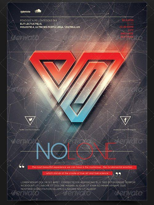 No Love 2 Poster/Flyer