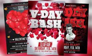 Top 10 Valentines Day Flyer Templates