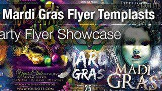 Best 20 Mardi Gras Flyer Templates