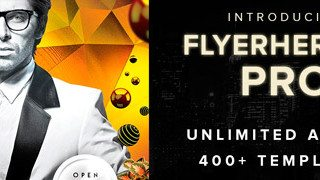 Download all Flyerheroes Flyer Templates: Unlimited Access to All Templates introducing Flyerheroes Pro
