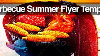 Best 10 BBQ Summer Party Flyer Templates Collection - FlyerSonar.com
