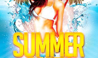 Featured Free Flyer: Summer Beach Party Template FreePSD