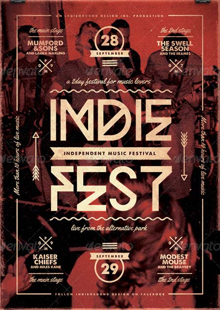 Indie Flyer/Poster Vol. 20